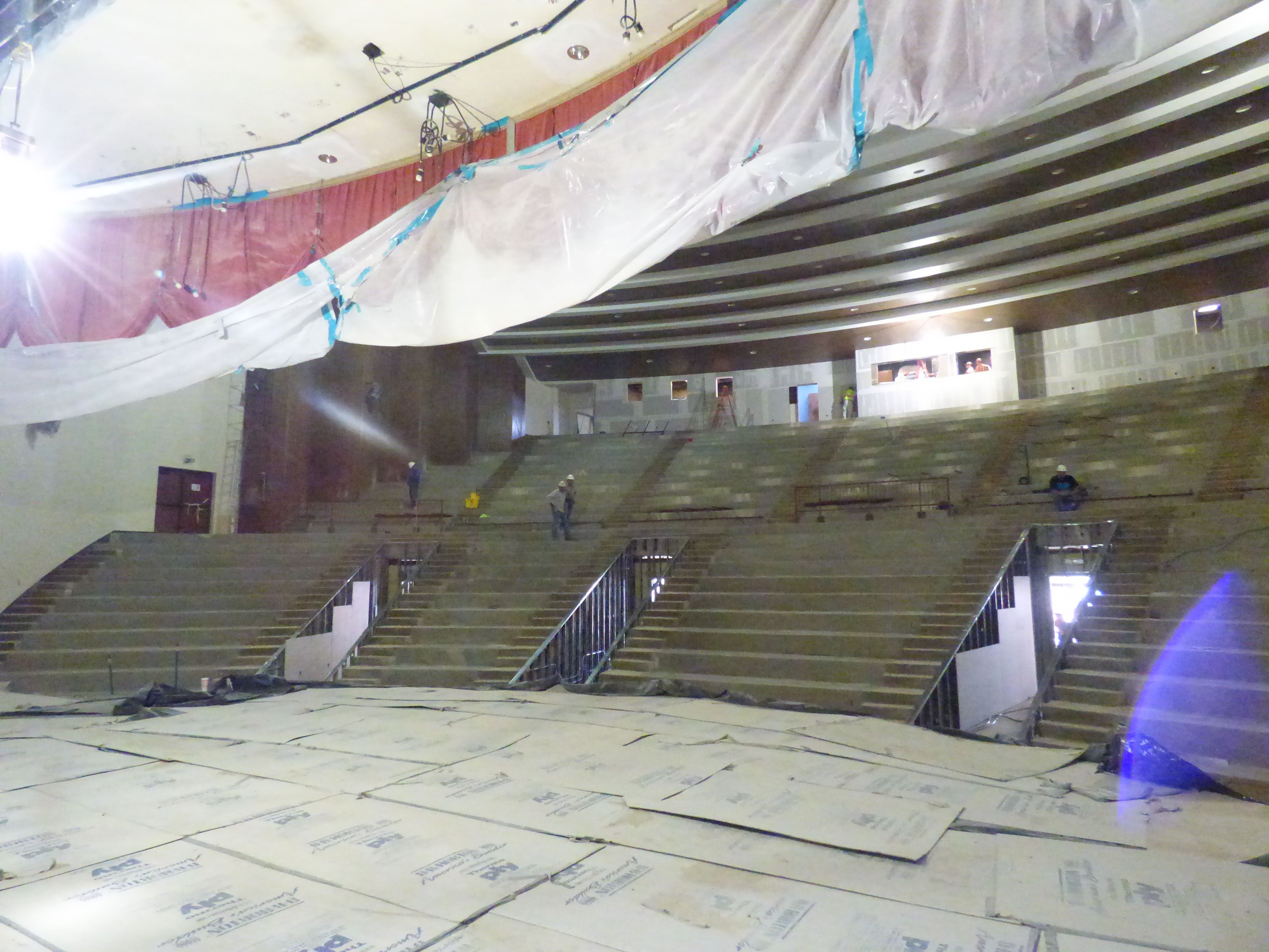 Auditorium Changes
